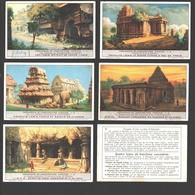Liebig - Série Complète - Monuments De L'architecture Hindoue - En Français - Liebig