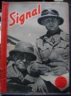 MilDoc. 68.  Revue De Propagande Allemande SIGNAL 1er Mail 1941. N°9. In Afrika - 1939-45