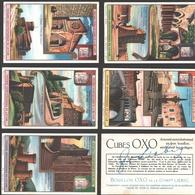 Liebig - Vintage Chromos - Series Of 6 / Série Complète - Trésors Architecturaux Du Latium - Français - Liebig