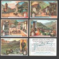 Liebig - Vintage Chromos - Series Of 6 / Série Complète - République D'Andorre - Français - Liebig