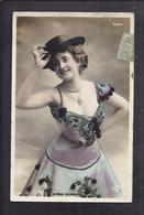 CPA ARTISTE FEMME - LA BELLE ELEONORE à La Scala - PhotographIe - Danseuse Chanteuse Espagne Carmen - Künstler