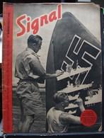 MilDoc. 70.  Revue De Propagande Allemande SIGNAL 2 ème Numéro  Juin 1941. N°14. Le Butin D'un Avion Allemand .......... - 1939-45