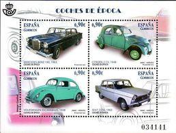 Espagne Transport Voiture N° 4788_F ** Quatre Modèles, Mercèdes, Citroen 2 Ch, Wolkswagen, Seat - Automobili