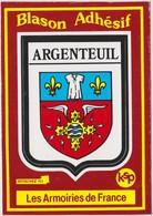 CP BLASON ECUSSON AUTOCOLLANT ADHESIF ARGENTEUIL - Argenteuil