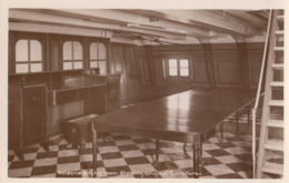 BO71. Vintage Postcard. HMS Victory. Nelson's Dining Room With Original Furniture. - Warships