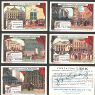 Liebig - Vintage Chromos - Series Of 6 / Série Complète - Théâtres D'Opéra Renommés - Français - Liebig