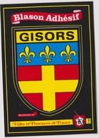 CP BLASON ECUSSON AUTOCOLLANT ADHESIF GISORS - Gisors