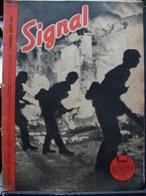 MilDoc. 71.  Revue De Propagande Allemande SIGNAL 1 Er Numéro  Août 1941. N°15. Vorwärts - 1939-45