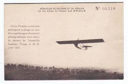 AERO CLUB DE GUYENNE ET DU REOLAIS Un Vol D'essai Du Planeur La Réole (Gironde) - 1919-1938: Entre Guerres