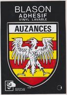 CP BLASON ECUSSON AUTOCOLLANT ADHESIF AUZANCES - Auzances