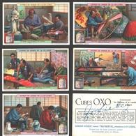 Liebig - Vintage Chromos - Series Of 6 / Série Complète - Métiers Artistiques Au Japon - Français- Japan - Liebig