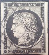DF40266/858 - CERES N°3 - GRILLE NOIRE - 1849-1850 Cérès