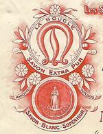 Facture 1/2 Format / 70 PORT SUR SAONE / MADIOT & LIAUTEY - CONCET / Savonnerie De La Boucle / Marseille - France