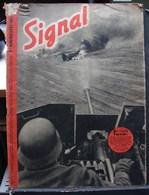 MilDoc. 72.  Revue De Propagande Allemande SIGNAL 2 éme Numéro  Août 1941. N°16. - 1939-45