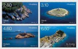 2015 Croatia - Lighthouses Of Croatia - Issue 2015 - MNH**  MiNr. 1188 - 1191 - Croazia