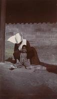 Real Photo Tchengtingfoo Mars 1903 Mission . Foreign Nurse . Nun With Maimed Little Girl. Petite Fille Estropiée - China