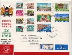 Postal History Cover: Kenya Used FDC - Kenya (1963-...)