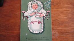 FEMMES BEBE   1912  OR - Bebes