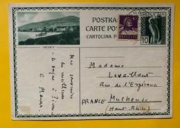 9589 - Entier Postal Illustration Vevey Dornach 14.10.1930 - Enteros Postales