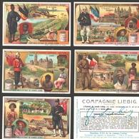Liebig - Vintage Chromos - Series Of 6 / Série Complète - Colonies Des Puissances Européennes - Français - Liebig
