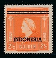Nederlands Indië / Indonesia - 1948 - Indonesia Opdruk 15ct - Fl2,50 Unused MH/MNH - Nederlands-Indië