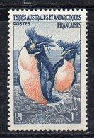 APR4536 - TAAF TERRES AUSTRALES FRANCAISE  1956, 1 Franco Integro  ***  MNH (2380A) . - Nuovi