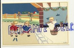 Bal. Deux Petites Danseuses, Ange Violoniste Coloprint Spécial 1379. Signée Ballin - Illustrateurs & Photographes