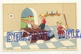 Famille à Table. Coloprint Spécial 1375. Signée Ballin - Illustrateurs & Photographes