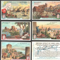Liebig - Vintage Chromos - Series Of 6 / Série Complète - Les Dardanelles - Français - Liebig