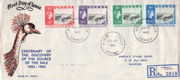 Postal History Cover: Uganda Used FDC - Uganda (1962-...)