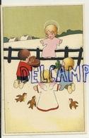 Enfant Jésus. Enfants Et Cadeaux, Petit Ange. Coloprint Spécial 1422. - Illustrateurs & Photographes