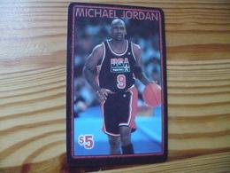 Prepaid Phonecard USA, Fone Connect - Basketball, Michael Jordan - Stati Uniti