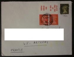 Grande-Bretagne - Lettre - 1952-.... (Elizabeth II)