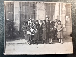 CP PHOTO DE GROUPE MODE TENUE EPOQUE - Moda