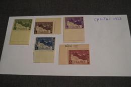 BELGIQUE ,1927 - LUXE , CARITAS BOOTJE BARQUETTES , COB 249-253,état Strictement Neuf - Belgique