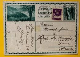 9591 - Entier Postal Illustration Glion Genève 19.12.1930 - Enteros Postales