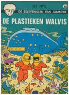 DE BELEVENISSEN VAN  JOMMEKE  JEF NYS  DE PLASTIEKEN WALVIS Nr.50 - Jommeke