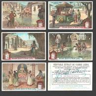 Liebig - Vintage Chromos - Series Of 6 / Série Complète - Les Dieux Des Indous - Français - Liebig