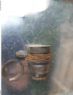 Bouton Allumeur Mine Antichar Allemand WW2 T.MI.Z.35 - Decotatieve Wapens