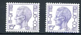 BE   S 67 - 67a    XX    ---    Les Deux Nuances  --  TTB - Service