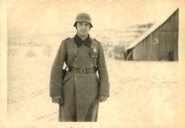 SECONDE GUERRE SOLDATS DE LA WEHRMACHT  PHOTO ORIGINALE FORMAT 10 X 7 CM - Guerre, Militaire