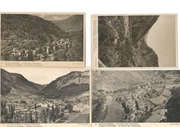 4 CP D'Andorre - Vues Générales - Andorra