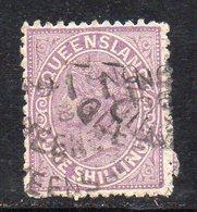 XP4491 - QUEENSLAND 1883,  Yvert N. 56 Usato  (2380A) . - 1860-1909 Queensland