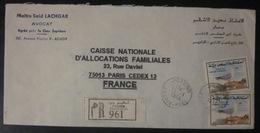 Maroc - Enveloppe Ayant Voyagé - 1994 - Agadir - Morocco (1956-...)