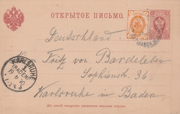 Russie Entier Postal 1890 - Interi Postali