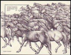 Kirgistan Chevaux Sauvages Wild Horses MNH ** Neuf SC (A53-587a) - Kirgisistan
