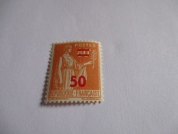 Timbre Type Paix 50c Sur 80c Orange 1941.Y & T N°481.Neuf. - France