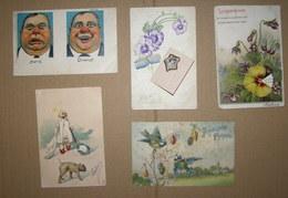 Lot De 37 Cartes Postales Début 1900 - Postkaarten
