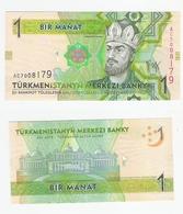 Turkmenistan  P. 22  1 Manat 2009  AC 7008179 UNC - Turkmenistan