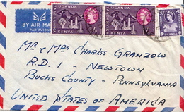Postal History Cover. Kenya Uganda And Tanganyika Cover - Kenya, Ouganda & Tanganyika